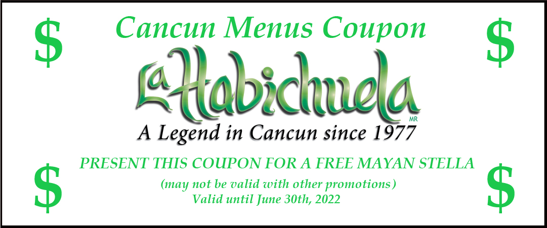 Cancun mexican restaurant coupons